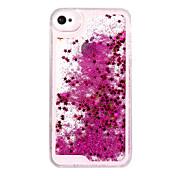 Etui Til iPhone 5 Apple iPhone X iPhone X iPhone 8 Etui iPhone 5 Flommende væske Bakdeksel Glimtende Glitter Hard PC til iPhone X iPhone