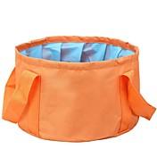 Cubo plegable para camping Solo Portátil Múltiples Funciones Plegable para Camping Viaje Senderismo Al Aire Libre