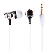 인 - 이어 이어폰 이어 버드 헤드폰 아이팟에 대한 PX-618 / 아이 패드 / 아이폰 / MP3 3.5mm의 스테레오