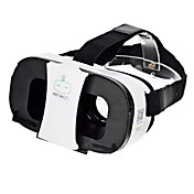 프리 쯔 VR 2 초 가상 현실 3D 비디오 헬멧 안경 - 블랙 + 화이트