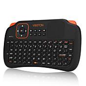 control remoto teclado inalámbrico ratón del aire mini-mosca 2,4 g de juegos para PC de escritorio del ordenador portátil con pantalla