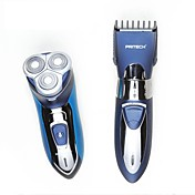 Maquinilla Eléctrica Hombre Rostro Manuel / Eléctrico / Afeitadora Rotativa / Accesorios de afeitarImpermeable / Afeite Húmedo/Seco /