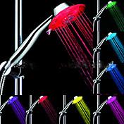 LED Luz Del Rociador de la Ducha Agua Impermeable ABS