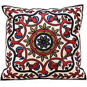 Algodón/Lino Cobertor de Cojín / Almohada innovadora / Funda de almohada / Almohada de cuerpo / Almohada de viaje,Floral / Sólido /