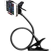 zxd360 grados de rotación de los brazos largos flexibles universales de montaje en soporte para teléfono móvil perezoso soporte de pinza titular