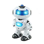 Robot RC Electrónica para niños Robot Infrarrojo ABS Canto Baile Paseo Control remoto Canto Baile Música y luz