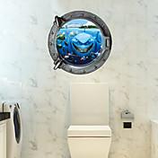 3D Veggklistremerker Fly vægklistermærker 3D Mur Klistremerker Dekorative Mur Klistermærker Materiale Kan fjernes Hjem Dekor