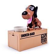 Choken bako-sparegris Møntholder Stjelende sparegris Pengeboks Sparegris Robothund Leketøy Originale Hunder ABS 1 Deler Barne Voksne Jul