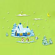 Dekorative Mur Klistermærker - Fly vægklistermærker Julepynt Stue Soverom Baderom Kjøkken Spisestue Leserom / Kontor Drengeværelse