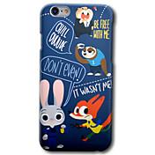Para iPhone 6 iPhone 6 Plus Carcasa Funda Diseños Cubierta Trasera Funda Caricatura Dura Policarbonato para Apple iPhone 6s Plus iPhone 6