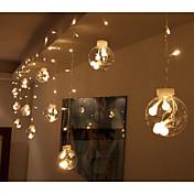 Lysslynger 12 LED Varm hvit RGB Hvit Rosa Lilla Gul Blå Koblingsbar 220V