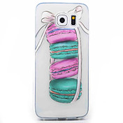 Para Samsung Galaxy S7 Edge Transparente / Diseños Funda Cubierta Trasera Funda Dibujos Suave TPU Samsung S7 edge / S7 / S6 edge / S6 / S5