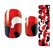 1 pcs Pegatinas de uñas 3D Dibujos / Moda Encantador Diario