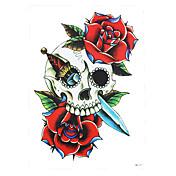 타투 스티커 꽃 시리즈 Non Toxic 패턴 허리 아래 Waterproof여성 남성 어른 플래시 문신 임시 문신