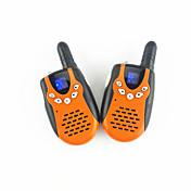 3651 par de mini walkie-talkie UHF par recargable familia al aire libre del turismo equipo puede optar por utilizar.