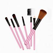 7pcs Pinceles de maquillaje Profesional Cepillo para Colorete / Pincel para Sombra de Ojos / Cepillo de Cejas Pelo Sintético / Caballo
