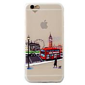 용 아이폰7케이스 아이폰7플러스 케이스 아이폰6케이스 반투명 패턴 케이스 뒷면 커버 케이스 시티뷰 소프트 TPU 용 Apple 아이폰 7 플러스 아이폰 (7) iPhone 6s Plus iPhone 6 Plus iPhone 6s 아이폰 6