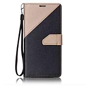 Etui Til Samsung Galaxy S8 S7 edge Kortholder Lommebok med stativ Flipp Magnetisk Heldekkende etui Helfarge Hard PU Leather til S8 S7
