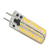 5W 320-350 lm GY6.35 LED-lamper med G-sokkel T 72 leds SMD 2835 Mulighet for demping Varm hvit