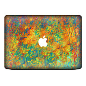 1 stk Hud Klistremerke til Motstår Risser Oljemaleri Mønster PVC MacBook Pro 15'' med Retina MacBook Pro 15 '' MacBook Pro 13'' med