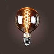 bofa g150 e40 40w antigua lámpara de burbujas de seda de edison (85v-265v)