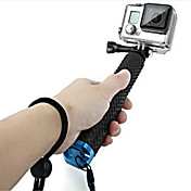Percha Telescópica Polo extensible Handheld Selfie Stick por Cámara acción Gopro 5 Gopro 4 Silver Gopro 4 Black Gopro 4 Gopro 4 Session