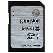 Kingston 64GB SD Kort minnekort UHS-I U1 Class10