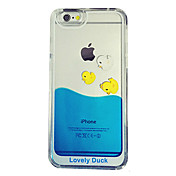 Para Funda iPhone 5 Líquido / Transparente Funda Cubierta Trasera Funda Dibujos Dura Policarbonato iPhone SE/5s/5