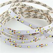 SENCART 5 m Fleksible LED-lysstriper 300 LED Varm hvit / RGB / Hvit Kuttbar / Mulighet for demping / Koblingsbar 12V / 3528 SMD