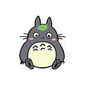divertido Tonari no Totoro etiqueta engomada del coche pared de la ventana de coche estilo coche calcomanía