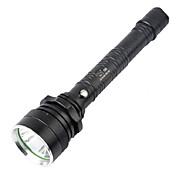 LED손전등 자전거 빛 조명 LED 160-280Lm 루멘 4.0 모드 크리Q5 1 x 18650 배터리 방수 슈퍼 라이트 용 캠핑/등산/동굴탐험 일상용 경찰/군인 사이클링 사냥 낚시 여행 일 야외