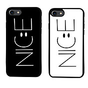 Funda Para Apple iPhone 6 iPhone 7 Plus iPhone 7 Diseños Funda Trasera Palabra / Frase Suave TPU para iPhone 7 Plus iPhone 7 iPhone 6s