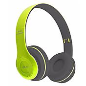 중립 제품 P47 해드폰 (헤드밴드)For미디어 플레이어/태블릿 모바일폰 컴퓨터With마이크 포함 DJ 볼륨 조절 FM 라디오 게임 스포츠 소음제거 Hi-Fi 모니터링(감시) 블루투스