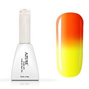 Neglelakk UV-Gel 12ml 1 Glitters Farveskiftende UV Top Coat Gel Klassisk Shimmering Glitter & Sparkle Lys Neon & Bright Dypp av langvarig