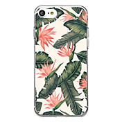 Para iPhone X iPhone 8 Carcasa Funda Ultrafina Transparente Diseños Cubierta Trasera Funda Flor Suave Goma para Apple iPhone X iPhone 8