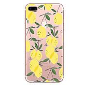 para iphone 6s 6s plus 7 7plus fruta patrón tpu caso suave iphone casos