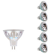 GMY® 6pcs 5W 380-400 lm GU5.3(MR16) Focos LED MR16 1 leds COB Blanco Cálido Blanco Fresco AC 12V DC 12V