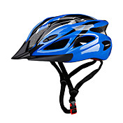 스포츠 남여 공용 자전거 헬멧 18 통풍구 싸이클링 사이클링 산악 사이클링 도로 사이클링 레크리에이션 사이클링 하이킹 클라이밍 PC EPS 옐로우 레드 블루 퍼플