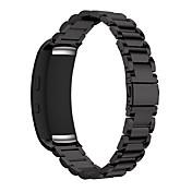 Klokkerem til Gear Fit 2 Samsung Galaxy Klassisk spenne Rustfritt stål Håndleddsrem