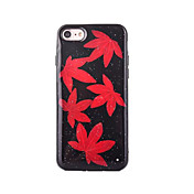 Para Manualidades Funda Cubierta Trasera Funda Azulejos Suave TPU para AppleiPhone 7 Plus iPhone 7 iPhone 6s Plus iPhone 6 Plus iPhone 6s