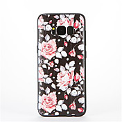Funda Para Samsung Galaxy Diseños Funda Trasera Flor Suave TPU para S8
