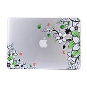 맥북 에어 11.6 꽃 패턴 PC의 하드 보호 쉘 매트 투명에게 13.3 프로 13.3 망막 케이스 커버