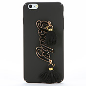 Funda Para Apple iPhone 7 Plus iPhone 7 Manualidades Funda Trasera Palabra / Frase Dura ordenador personal para iPhone 7 Plus iPhone 7