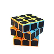 Rubiks kube Karbonfiber 3*3*3 Glatt Hastighetskube Magiske kuber Kubisk Puslespill Matte Gave Unisex