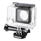 보호케이스 방수 하우징 케이스 방수 45M 에 대한 액션 카메라 Gopro 4 Gopro 3 Gopro 3+ 캠핑 & 하이킹 사이클링 스키 다이빙 파도타기 캠핑 여행