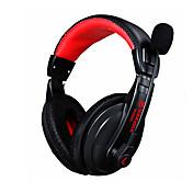 Auricular del juego auricular estéreo del juego del auricular del juego de 3.5mm con ruido del micrófono que cancela skype para el gamer