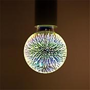 1 pc g95 led fuegos artificiales decorativos 3d e27 poliedro vintage edison bombilla decoración de la barra de inicio iluminación lampada ac85-265v
