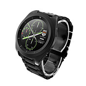 Reloj elegante Pantalla Táctil Monitor de Pulso Cardiaco Podómetros Llamadas con Manos Libres Control de Cámara Anti-perdida Audio