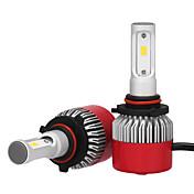 2pcs 9005 Bil Elpærer 36W Integrert LED 3600lm LED Hodelykt
