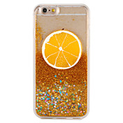 Funda Para Apple iPhone 7 Plus iPhone 7 Líquido Diseños Funda Trasera Fruta Brillante Dura ordenador personal para iPhone 7 Plus iPhone 7